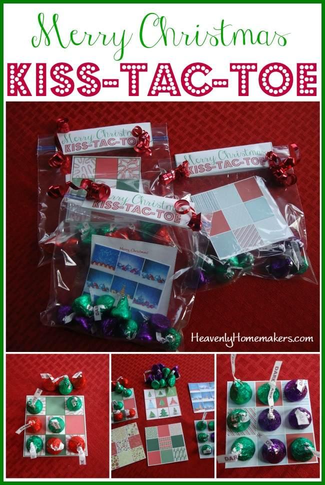 Merry Christmas Kiss-Tac-Toe
