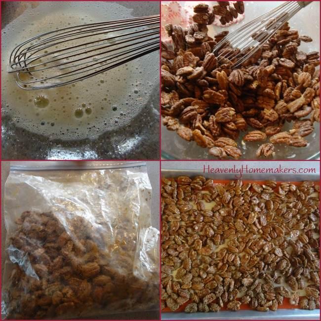 Steps to Make Cinnamon Sugar Pecans