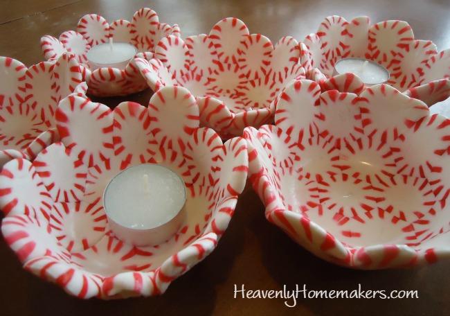 peppermint bowls