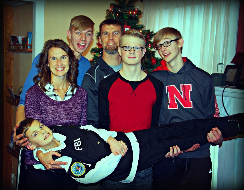 Family Christmas Pic
