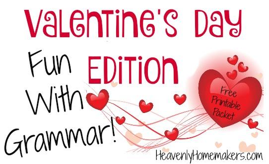 Valentine's Day Fun with Grammar