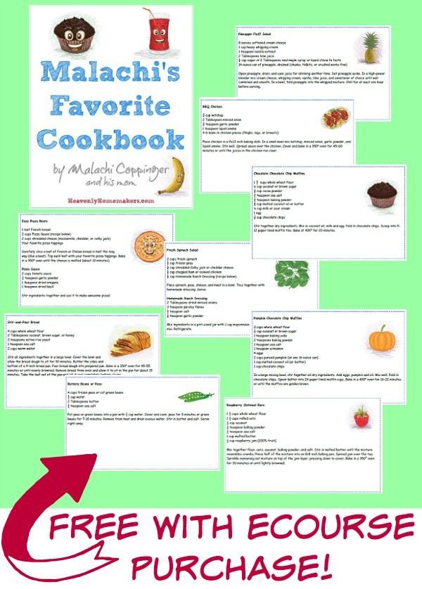 Malachi's Favorite Cookbook Samples2