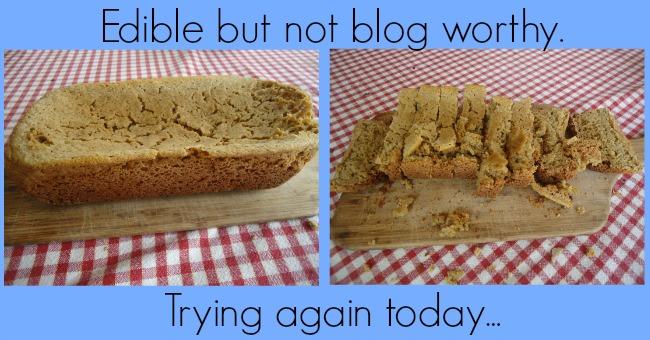 Crock Pot Bread Fail