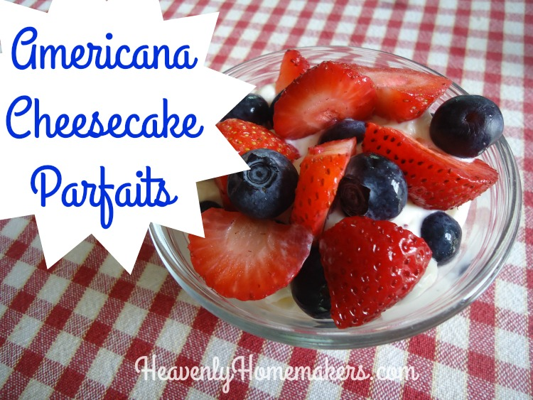 Americana Cheesecake Parfaits