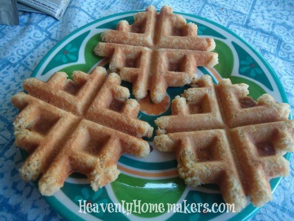 Waffle Cookies - Low Sugar