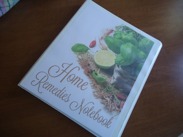 home remedies notebook2