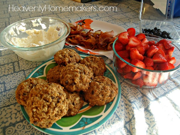 Freezer Breakfast Cookies5