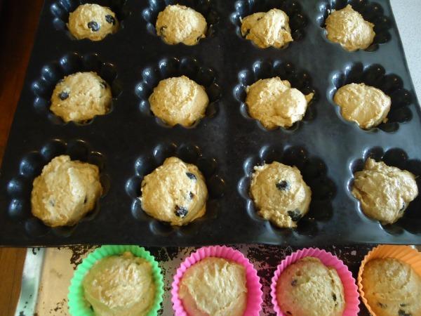 frozen muffins