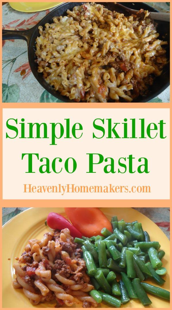 simple-skillet-taco-pasta