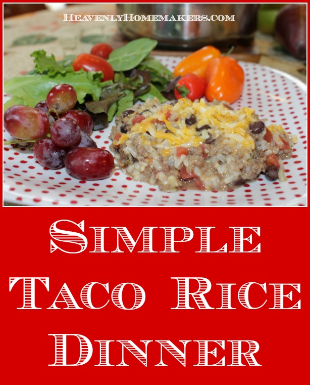 simple-taco-rice-dinner