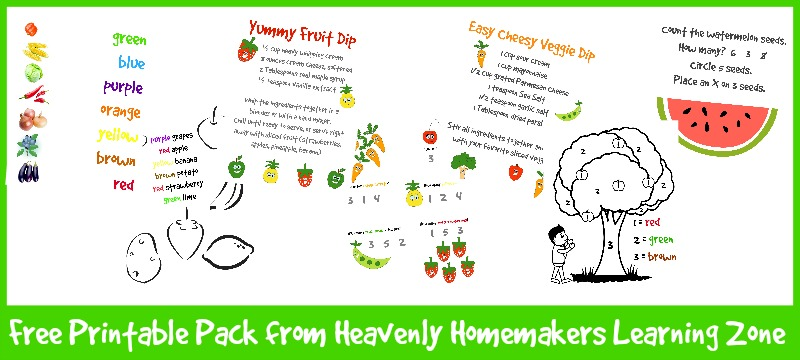 Free Printables from Homemakers Learning Zone