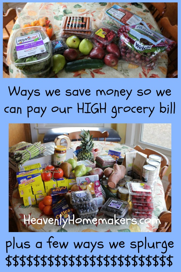 Ways we save money so we can pay our high grocery bill