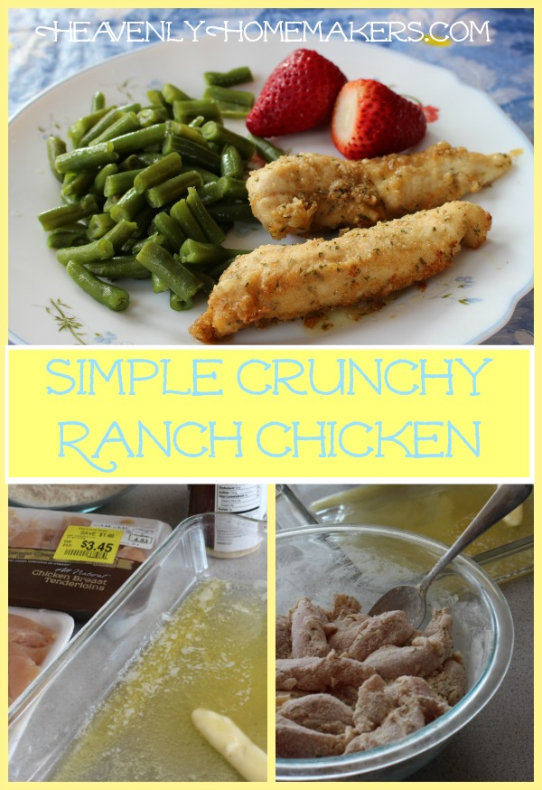 Simple Crunchy Ranch Chicken