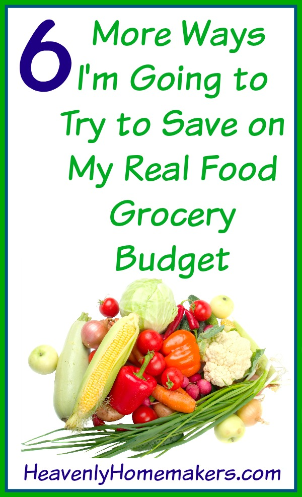 6 More Ways I'm Going to Try to Save on My Real Food Grocery Budget