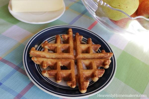 waffle muffin 1