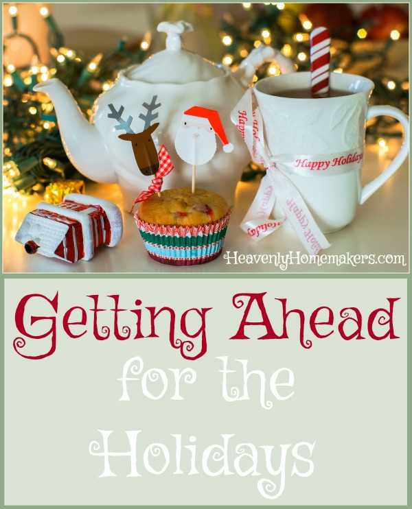 Getting Ahead for the Holidays Cover2