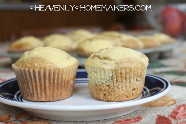 banana cheesecake muffins11