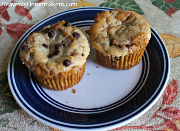 pumpkin cheesecake muffin22