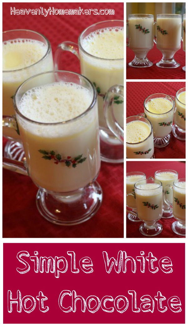 Simple White Hot Choclate