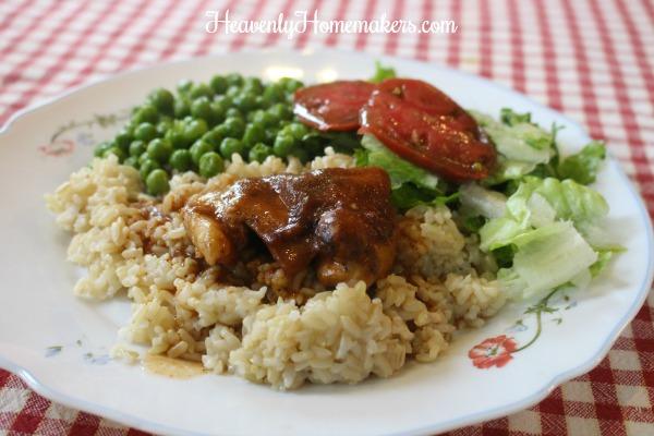 bbq applesauce chicken11