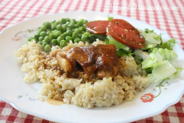 bbq applesauce chicken12