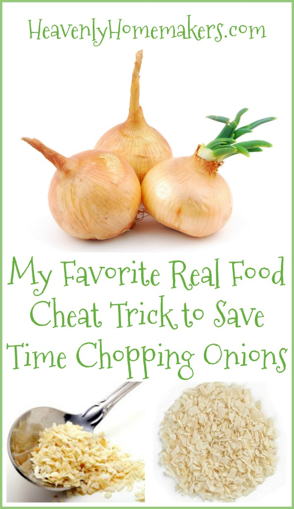 Save Time Chopping Onions