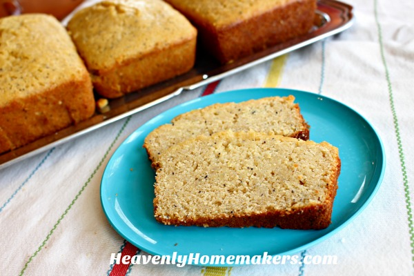 The Best Orange Glazed Poppyseed Quick Bread
