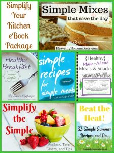 Simplify Your Kitchen eBook Package