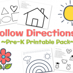 Follow Directions Printable Pack