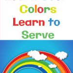 Learn your Colors, Learn to Serve