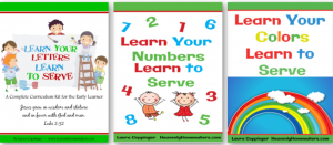 Learn to Serve Complete Curriculum 3-Pack